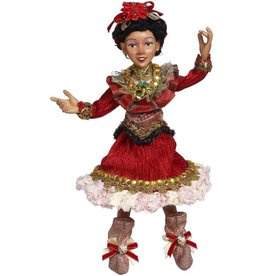 Mark Roberts Fairies Christmas Elves Dancer Elf SM Inch