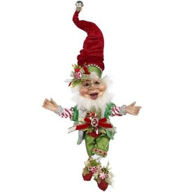 Mark Roberts Fairies Christmas Elves Candy Cane Elf SM 10.5 inch