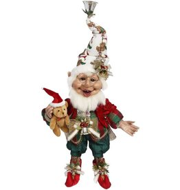 Mark Roberts Fairies Christmas Elves Teddy Bear Elf MD 17 Inch