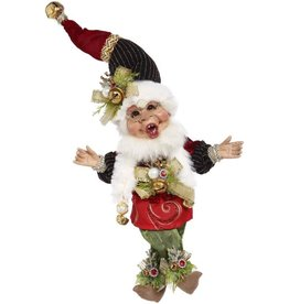 Mark Roberts Fairies Christmas Elves Sleigh-Bells Elf SM 10.5 Inch