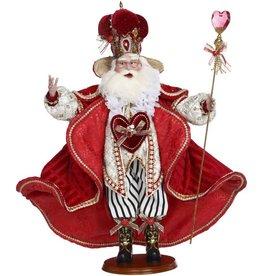 Mark Roberts Fairies Christmas Santas King Of Hearts Santa 27 Inch