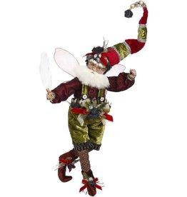 Mark Roberts Fairies Christmas Coal Stocking Fairy MD 15.5 Inch