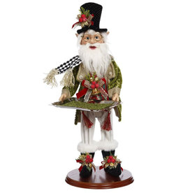 Mark Roberts Fairies Christmas Elf Holding Serving Platter 19.5 Inch WH