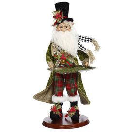Mark Roberts Fairies Christmas Elf Holding Serving Platter 19.5 Inch PL