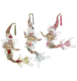 Mark Roberts Fairies Under The Sea Mermaid Fairy Set of 3 SM 11 Inch