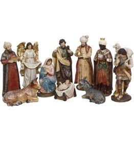Holy Family Nativity Scene Set of 10