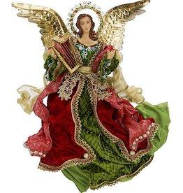 Elegant Flying Angel W Harp 18 Inch