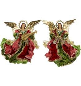 Elegant Flying Angels 18 Inch Set