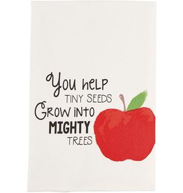 Mud Pie Teacher Hand Towel You Help Tiny Seeds Grow Into Mighty Trees