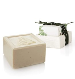 Frasier Fir Bar Soap And Dish Set