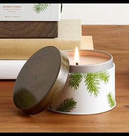 Frasier Fir Poured Candle 6.5oz Tin Pine Needle Design