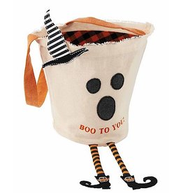 Mud Pie Halloween Candy Bag Ghost With Boo To You