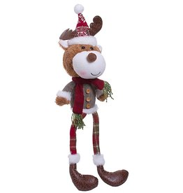 Darice Reindeer Moose Christmas Character Shelf Sitter Decoration