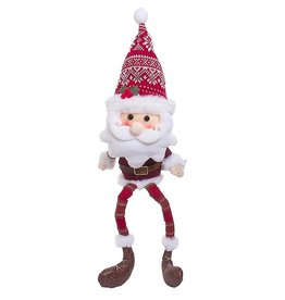 Darice Santa Claus Christmas Character Shelf Sitter Decoration