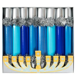 Caspari Hanukkah Celebration Crackers 8pk Hanukkah Candles