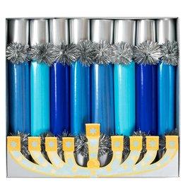 Caspari Hanukkah Celebration Crackers 8pk Hanukkah Candles