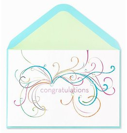 PAPYRUS® Congratulations Card Flourishes Gems