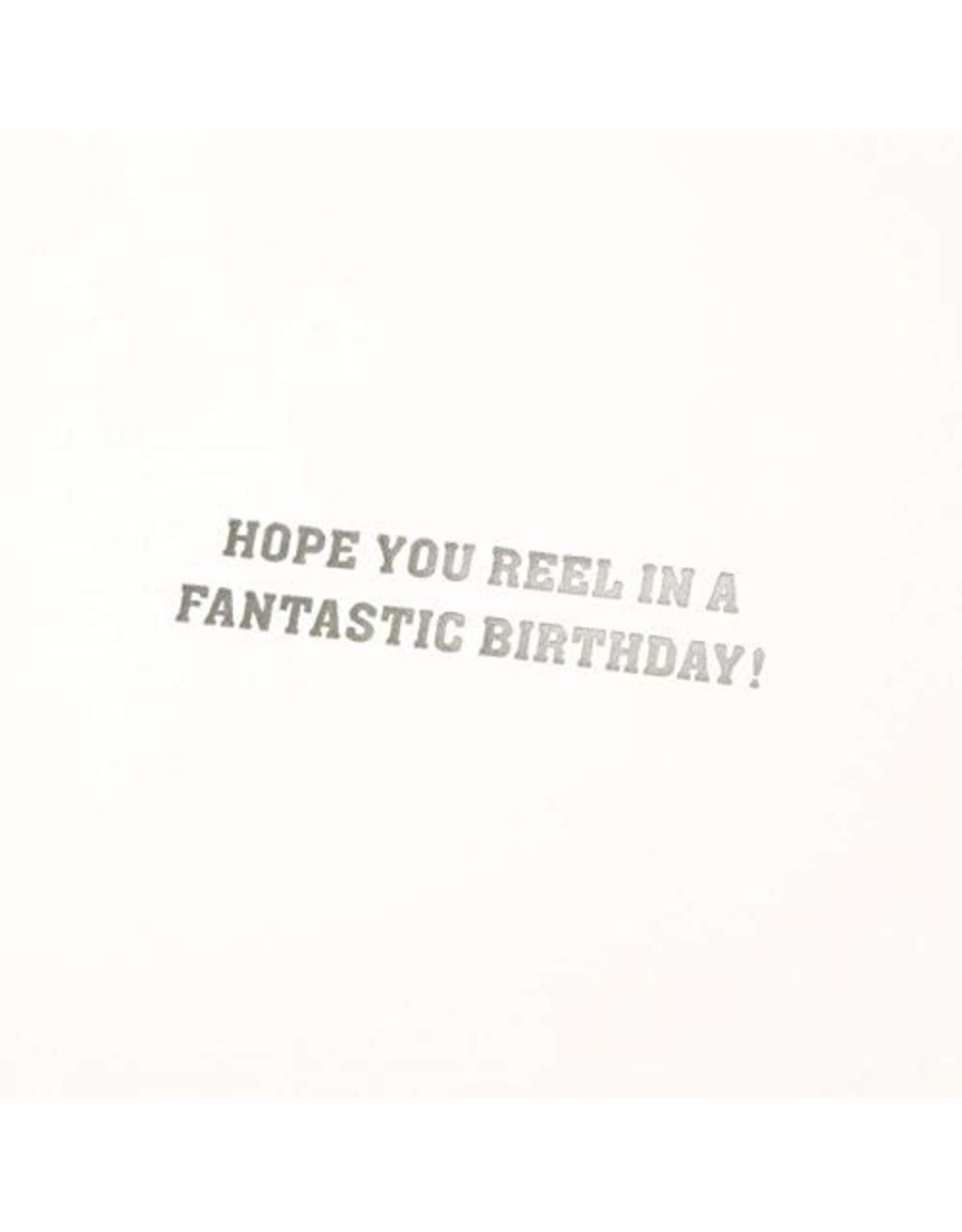 PAPYRUS® Birthday Cards Handmade Rather Be Fishing Vest