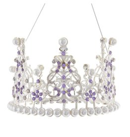 Kurt Adler Royal Splendor Crown Ornament 4.8 Inch