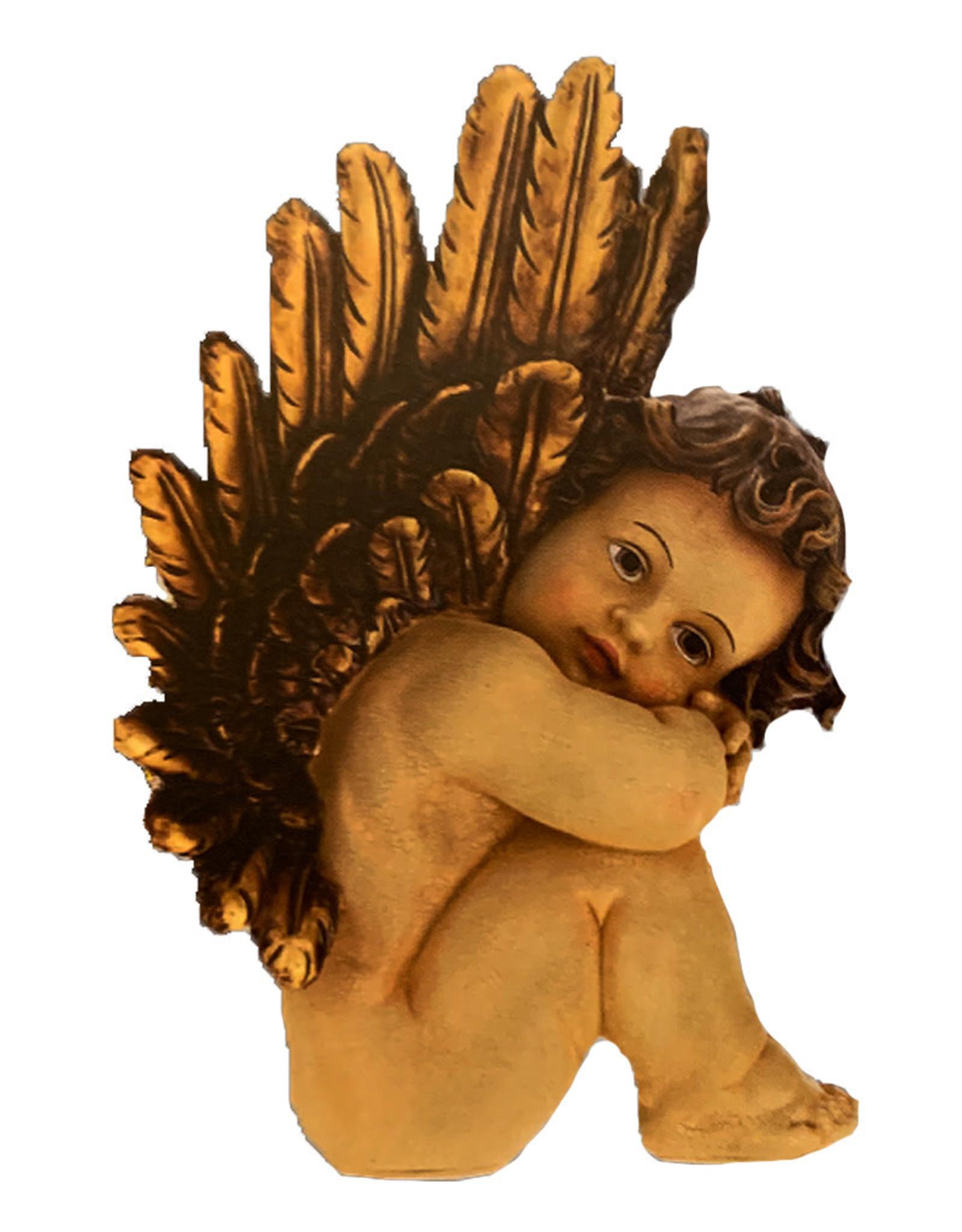 Angelic Cherub Sitting - A