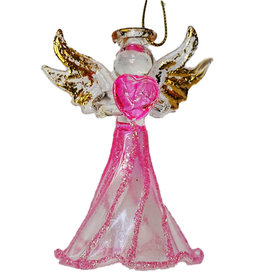 Kurt Adler Crystal Birthstone Angel Ornaments OCTOBER