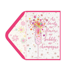 PAPYRUS® Birthday Card Floral Drink