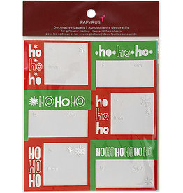 PAPYRUS® Christmas Gift Labels 12 To From Ho Ho Ho Gift Labels 3x2