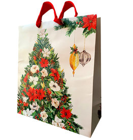 PAPYRUS® Christmas Gift Bag JMB 16x18x6.5 Deck The Halls