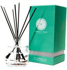 Gibson & Dehn White Tea Cedar Diffuser 6oz Reed Diffuser Set
