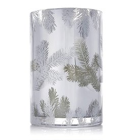 Thymes Frasier Fir Statement Luminary Candle Medium 20 Oz Silver