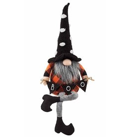 Mud Pie Halloween Gnomes Medium Witch Gnome 23 Inch