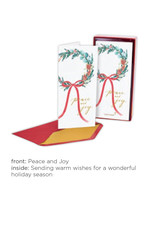 PAPYRUS® Boxed Christmas Cards 16pk Allegro Peace And Joy