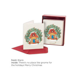 PAPYRUS® Boxed Christmas Cards 20pk Santa Gnome