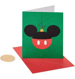 PAPYRUS® Boxed Christmas Cards 20pk Mickey Mouse Ornament