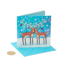 PAPYRUS® Christmas Card For Spouse Two Reindeer