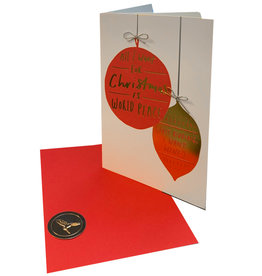 PAPYRUS® Christmas Card  World Peace Christmas
