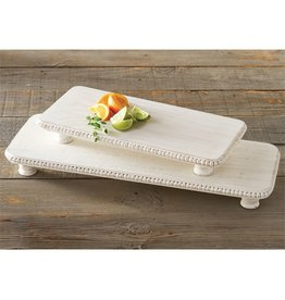 Mud Pie Beaded Serving Boards Set of 2