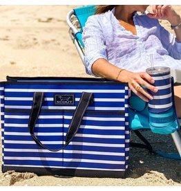 Scout Bags The BJ Bag Pocket Tote Bag Nantucket Navy