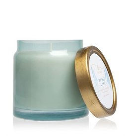 Washed Linen Candles Glass Jar Candle 16 Oz