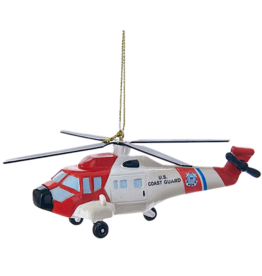 Kurt Adler U.S. Coast Guard Helicopter Ornament