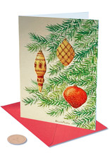 PAPYRUS® Boxed Christmas Cards 14pk Whimsy Cropped Tree Bella Pillar