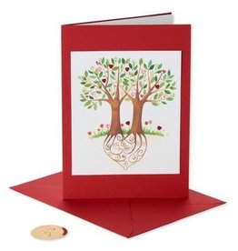 PAPYRUS® Valentine's Day Cards Heart Trees Love How We Grow Together