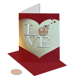 PAPYRUS® Valentine's Day Cards Star Wars BB-Mine LOVE