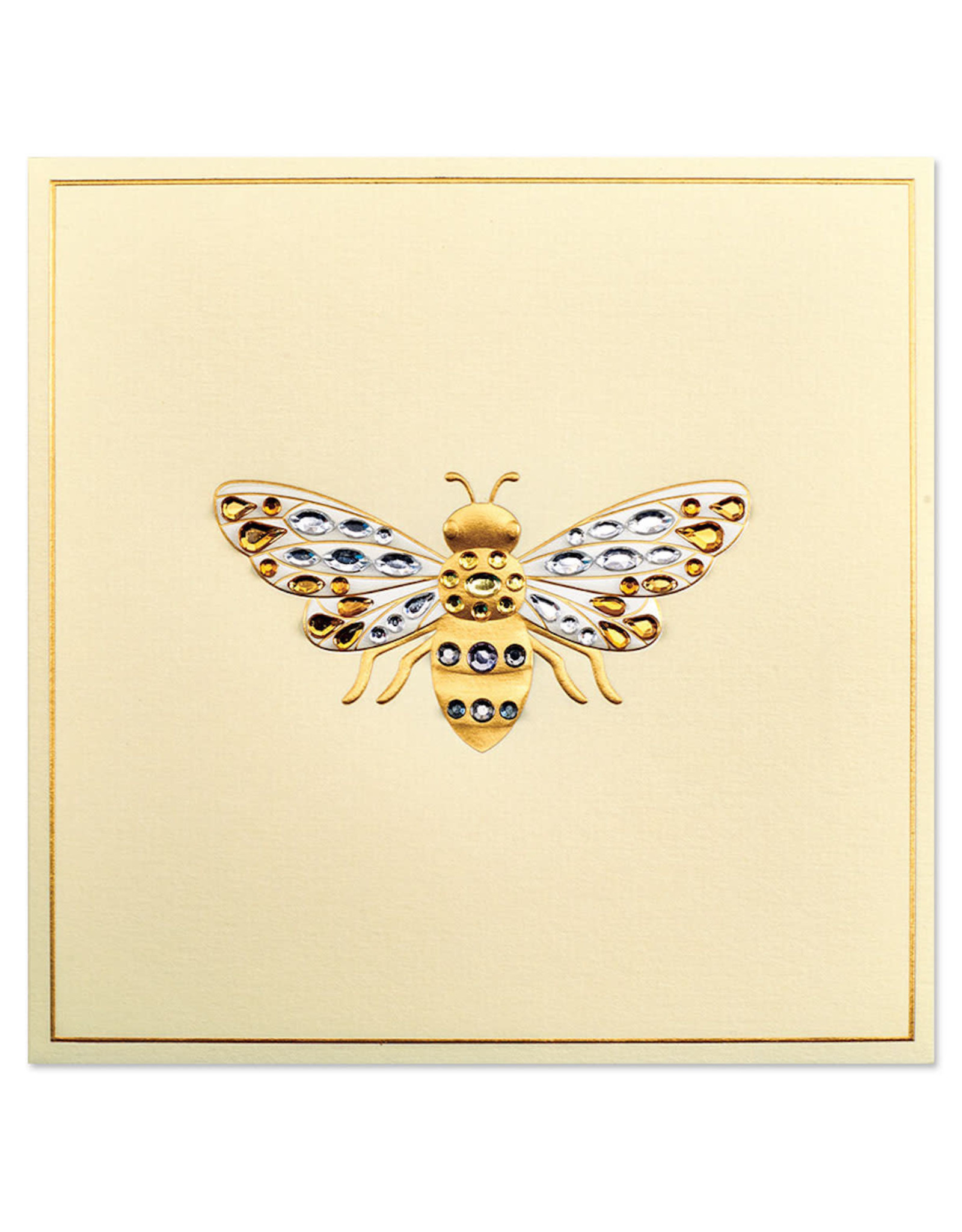 PAPYRUS® Blank Note Card Gemmed Bee