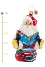 Christopher Radko A Plus Student Teacher Ornament 5 inch