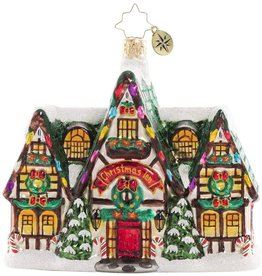 Christopher Radko Happy Holiday Memories Ornament 5 inch