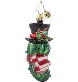 Christopher Radko The Christmas Pickle Gem Ornament