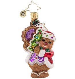 Christopher Radko The Gingerbread Man Can Gem Ornament