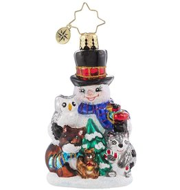 Christopher Radko Friends Of The Forest Gem Ornament