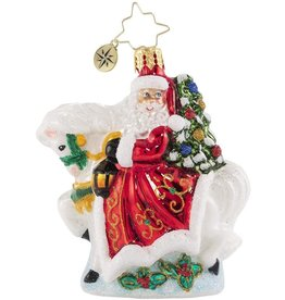 Christopher Radko Galloping into Christmas Gem Ornament
